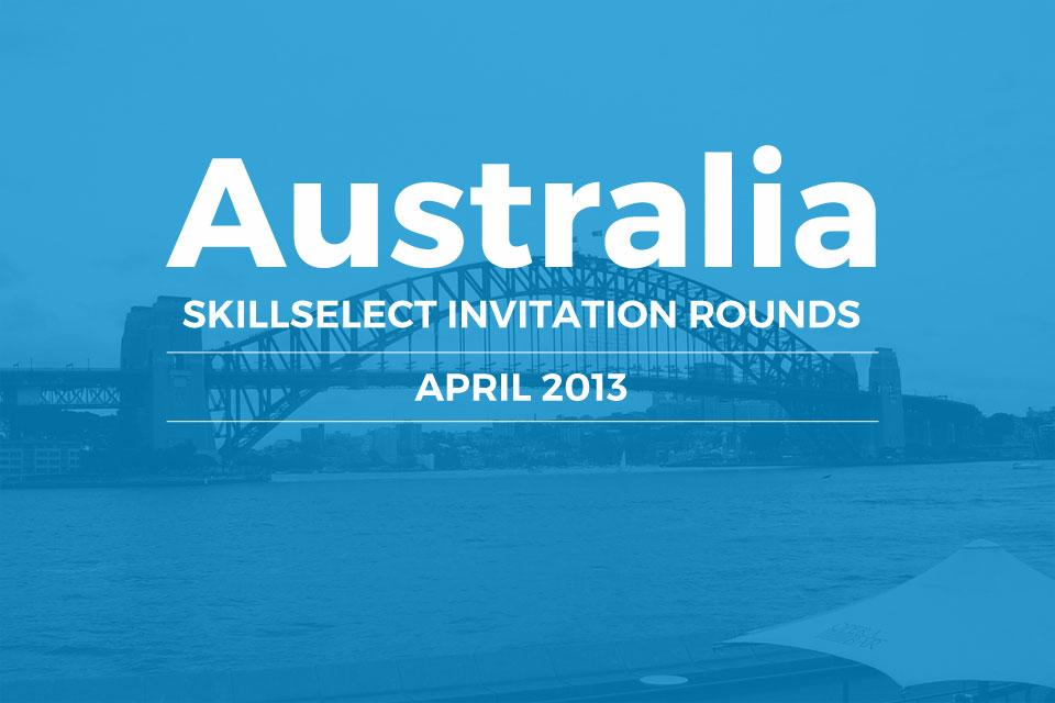 SkillSelect April 2013